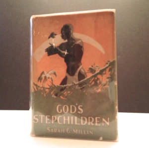 "Rare 1927 edition of ""God's Stepchildren,"" a story about apartheid in South Africa"