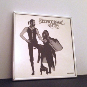 "Rare 1977 Fleetwood Mac ""Rumours"" Promotional Mirror"