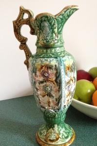 Majolica vase, circa 1900s