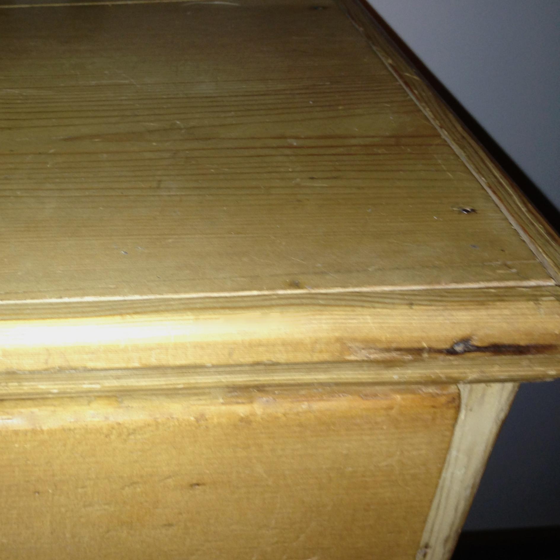 new top on antique pine dresser antique english pine armoire