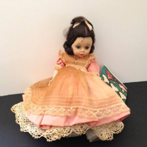 "1966 Madame Alexander ""Beth"" doll from the ""Little Women"" series."