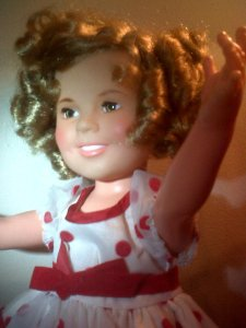 1972 Shirley Temple dollPhoto courtesy of Kristie Ann Foss, DadLovedIt, Etsy
