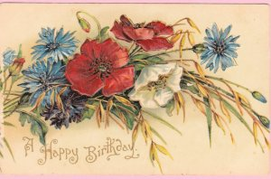 "1901-1906 greeting ""postcard."" Photo courtesy of Pecan Hill Antiques, Etsy"