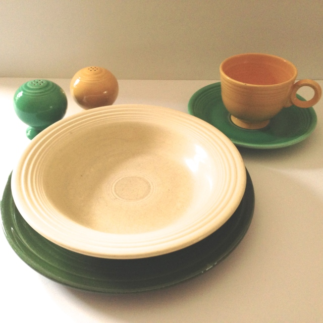 "Fiesta Trivia: The people at Homer Laughlin hated the term ""Fiestaware."""