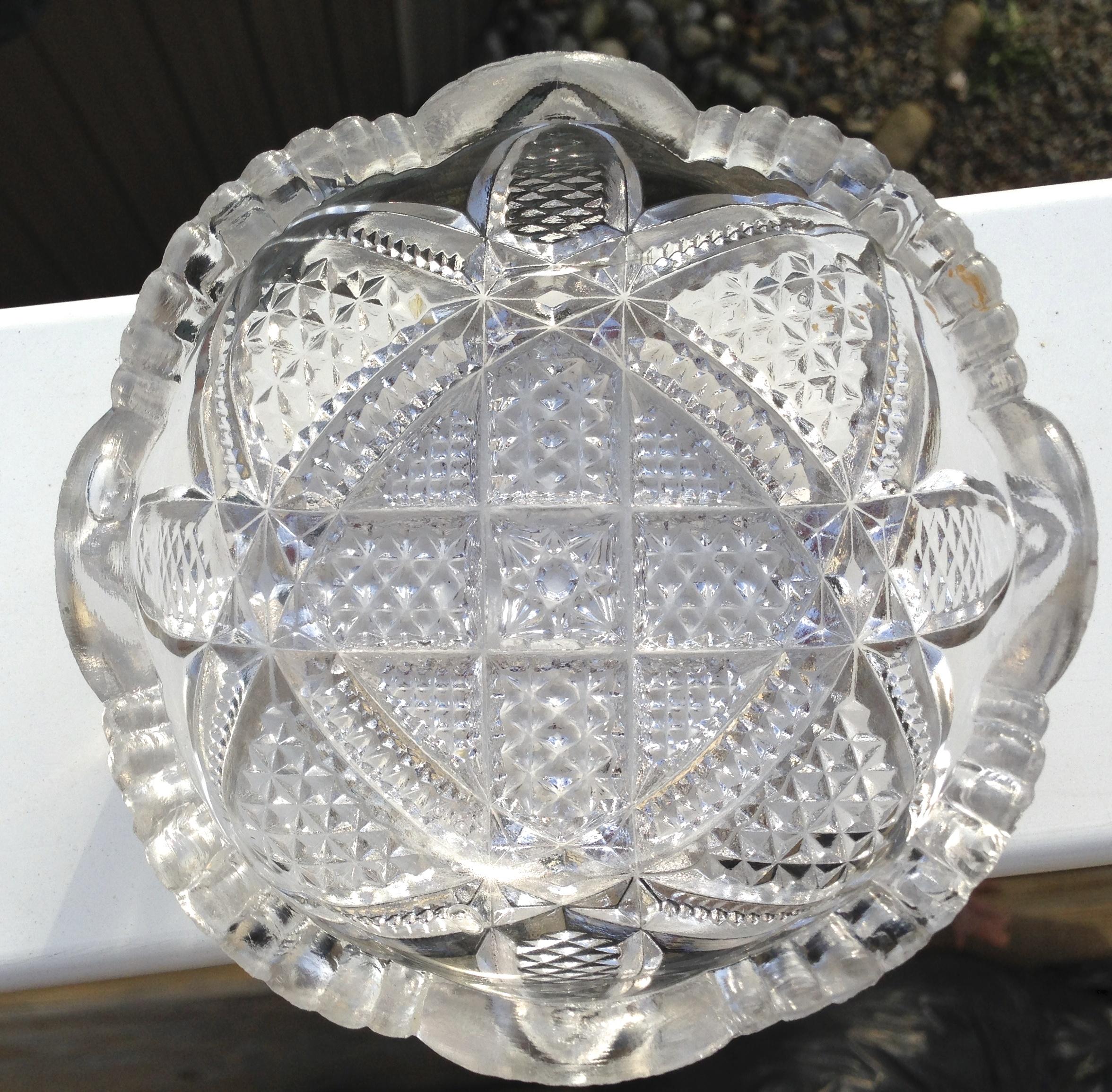 S Cut Glass Bowls