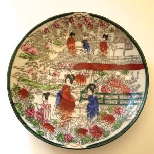 Geisha Girl pattern, circa 1920
