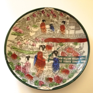 Geisha Girl pattern, circa 1920