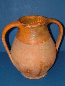 Rare 1890s Verwood Pottery Earthenware Urn. Photo courtesy of BiminiCricket, Etsy