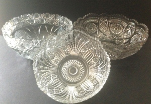 EAPG serving bowls, 1920s - 1930s