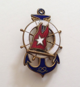 "Naval ""Sweetheart"" pin, World War II"