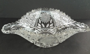 Innovation orange bowl, pattern #410, 1917-1920