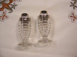 Hazel Atlas Salt & Pepper Shakers. Photo courtesy of FabVintageEstates, Etsy