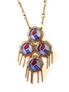 Vintage 1960s Hippie BoHo Necklace