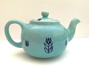 Cameron Pottery tea pot, 1950s.